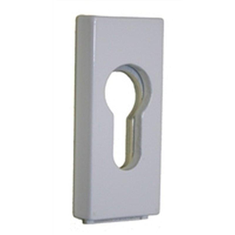 schiebeschutzrosette f r met t ren 457 14 wei 14 mm st rke 15 20. Black Bedroom Furniture Sets. Home Design Ideas