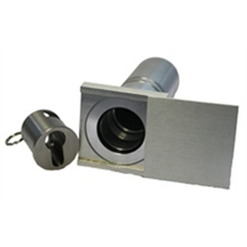 schl sselsafe 50 f r pz zylinder mit visierrosette 98 80. Black Bedroom Furniture Sets. Home Design Ideas