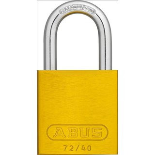 Abus 72/40 color gelb